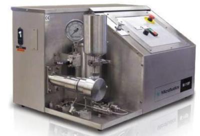 M-110P Plug and Play Lab Homogenizer from Microfluidics