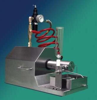 M-110L Microfluidizer Processor from Microfluidics