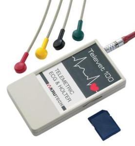 Televet 100 - Telemetric ECG & Holter from Kruuse