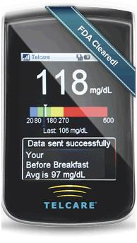 Telcare Blood Glucose Meter