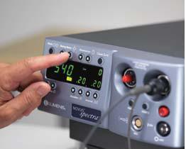 Novus Spectra Premier Dual-Port Photocoagulator from Lumenis