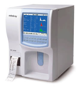 BC-2800 Auto Hematology Blood Analyzer from Mindray