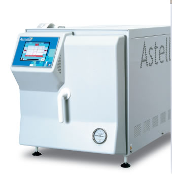 Front Loading Compact Autoclave from Astell