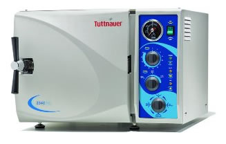 ML Semi Automatic Benchtop Autoclave from Tuttnauer