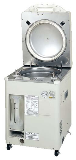 MLS-Series 50L In-Lab Top-Loading Autoclave