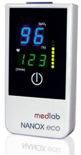NANOXeco Handheld Pulse Oximeter from Medlab