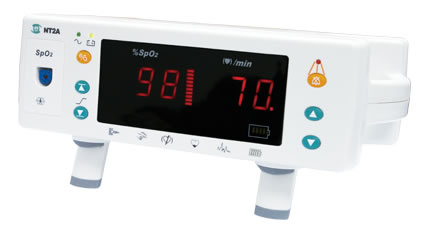 NT2A Portable Pulse Oximeter from Solaris Medical Technology
