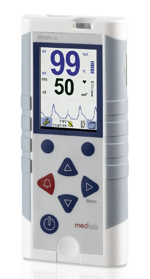 PEARL10 Handheld Pulse Oximeter from Medlab