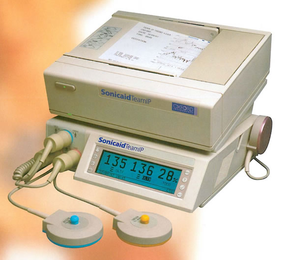 Sonicaid Team Antepartum Fetal Monitor from Wallach Surgical