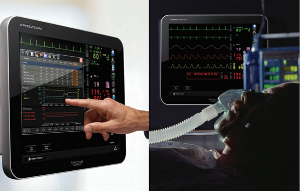 XPREZZON  Patient Vital Signs Monitors from Spacelabs Healthcare