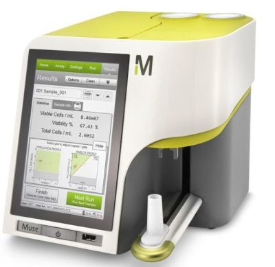 Muse Cell Analyzer for Accurate Cell Counting