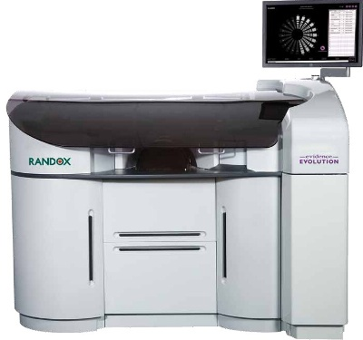 Evidence Evolution Biochip Analyzer from Randox