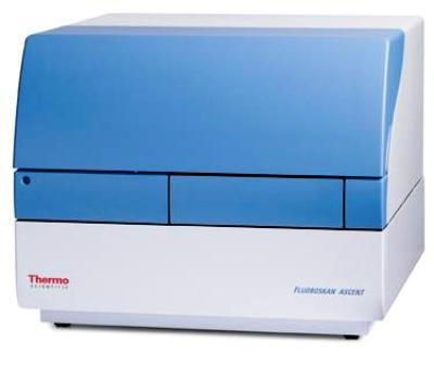 Fluoroskan Ascent FL Microplate Fluorometer and Luminometer from Thermo Scientific