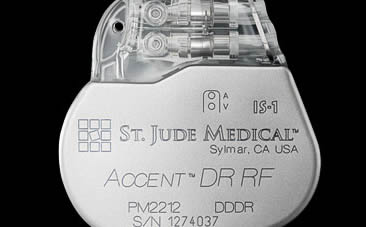 Accent Pacemaker from St. Jude Medical