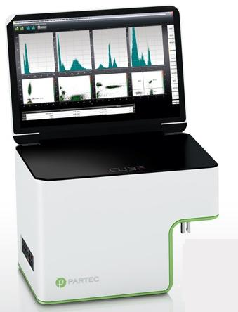 CyFlow Cube 6 Flow Cytometer from Partec