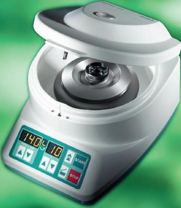 Mikro 120 Benchtop Centrifuge from Hettich
