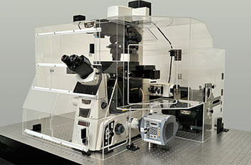 N-SIM Super-Resolution Inverted Microscope from Nikon