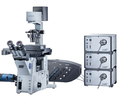 Cell TIRF Motorized Multicolor Illuminator from Olympus