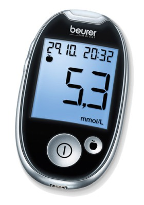 GL44 (mmol/L) Blood Glucose Monitor from Beurer