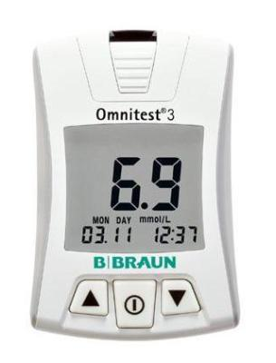 Omnitest 3 Blood Glucose Monitor from B.Braun