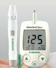 Omnitest Plus Blood Glucose Monitor from B. Braun