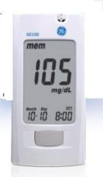 GE 100 Blood Glucose Monitor from GE Diabetes