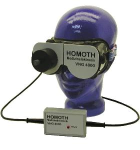 VNG 4000 Videonystagmography from HOMOTH