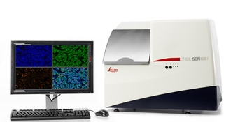 SCN400 F Brightfield and Fluorescence Slide Scanner from Leica
