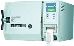 EVB and EVS Classical Class B/S Autoclave from Tuttnauer