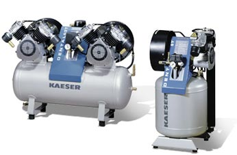Permanent Power Dental Compressor from Kaeser