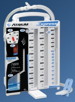 Express Dry Suction Dry Seal Drain from Atrium