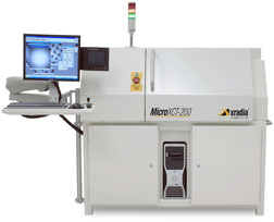 MicroXCT-200 from Xradia 3D X-Ray Imaging System