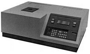 minispec pc20 for SFC measurements introduced in 1980