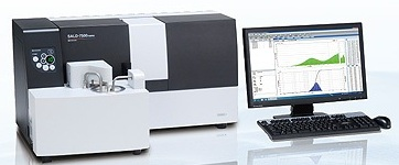 SALD-7500nano Particle Size Analyzer from Shimadzu