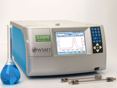DAWN® HELEOS® II Multi-Angle Light Scattering Detector for HPLC/GPC from Wyatt Technology