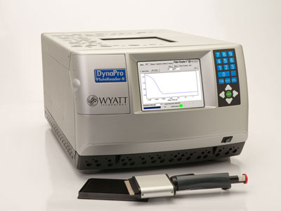 DynaPro® DynamicLight Scattering Plate Reader from Wyatt Technology