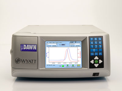 µDAWN™ Multi-Angle Light Scattering Detector for UHPLC from Wyatt Technology
