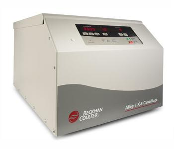 Allegra X-5 Air-Cooled Benchtop Centrifuge from Beckman Coulter
