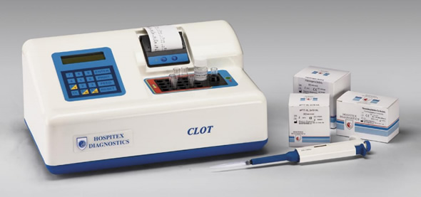 Clot Blood Coagulometer from Hospitex