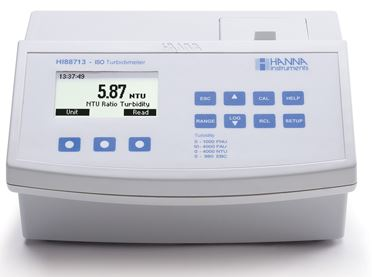 HI 88713 Turbidity Benchtop Meter from Hanna