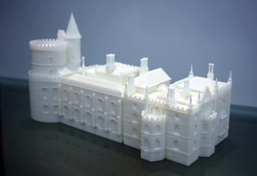 Vertex modelling uses 3d printing to make london s for 3d printed house model