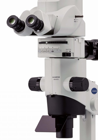 MVX10 Macroview Stereo Microscopes from Olympus