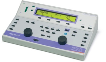 Amplivox 270 Diagnostic Audiometer for Clinic and Portable Applications