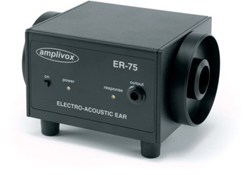 ER75 Electro-Acoustic Ear Simulator from Amplivox