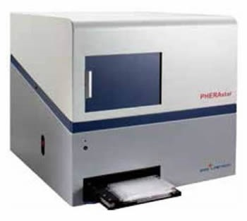BMG LABTECH's multidetection microplate reader PHERAstar