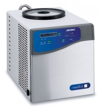 FreeZone Plus 2.5 Liter Cascade Benchtop Freeze Dry Systems from Labconco