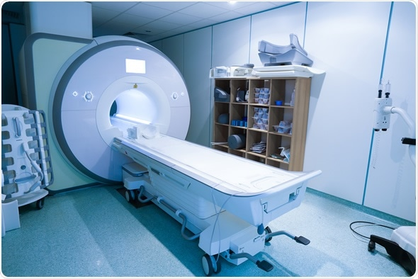 Magnetic resonance spectroscopy machine in hospital laboratory : Image Copyright: zlikovec / Shutterstock