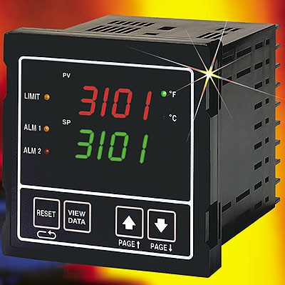 1/4 DIN Limit Temperature Controllers from OMEGA Engineering