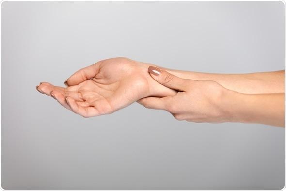 Hand Pain. Copyright: puhhha / Shutterstock