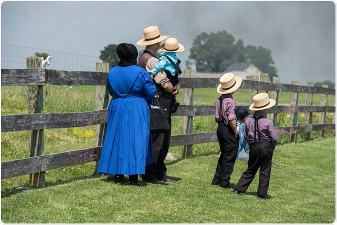a study of the amish people Scientists have found a genetic mutation in the amish people of the midwestern united states that appears to make them live 10 years longer than people without it, a study said wednesday.